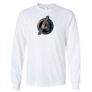 Youth Kids Avenger T-Shirt Long Sleeve